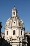 罗马的圆顶 免版税库存图片