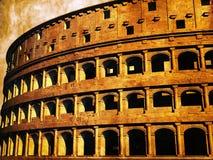 罗马的大剧场 库存例证