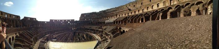 罗马的大剧场 免版税库存图片