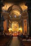 罗马的大教堂 库存照片