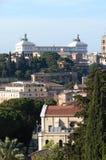 罗马的家园的曲拱 库存图片