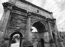 罗马的曲拱 库存照片