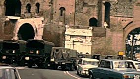 罗马的档案波尔塔Pinciana门 股票录像