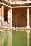 罗马的浴 免版税库存照片