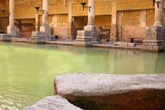 罗马的浴 库存图片