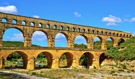 罗马的渡槽 免版税库存图片
