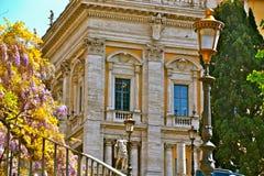 罗马的街秀丽  免版税库存图片