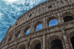 罗马的colosseum 图库摄影