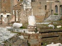 罗马的foro 免版税图库摄影
