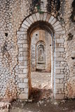 罗马的porticus 库存照片