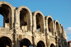 罗马竞技场的arles 免版税库存图片
