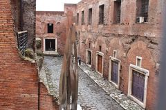 罗马罗马废墟 免版税库存图片
