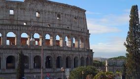 罗马罗马斗兽场和康斯坦丁凯旋门  影视素材