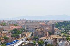 罗马罗马斗兽场在罗马,意大利 免版税库存图片