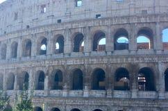 罗马罗马斗兽场的历史中心 免版税库存照片