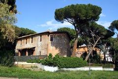 罗马美丽如画的公园 免版税库存照片