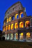 罗马美好的晚上 免版税库存照片