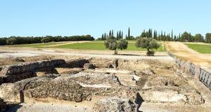 罗马考古学保持 免版税库存照片