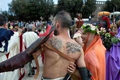 罗马节日诞生2015年 库存照片