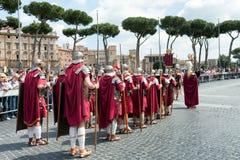 罗马节日诞生2015年 免版税库存图片