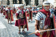 罗马节日诞生2015年 免版税库存照片