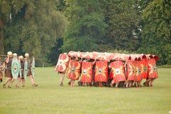 罗马草龟战术 库存照片