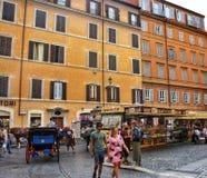 罗马街道 库存图片