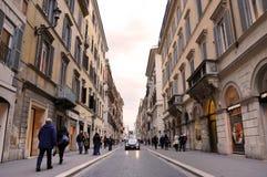 罗马街道 免版税图库摄影