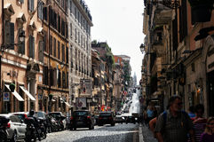 罗马街道 库存照片