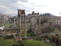 罗马论坛2的惊人的看法 库存图片