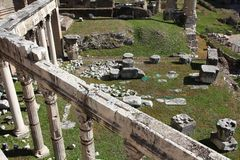罗马论坛 免版税库存图片