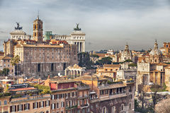 罗马都市风景 图库摄影