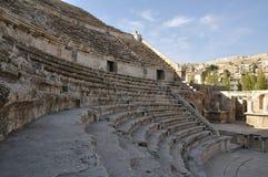 罗马阿曼的amphiteater 库存照片