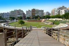 罗马集市塞萨罗尼基希腊 库存图片