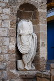 罗马雕象在伊维萨岛 图库摄影