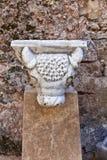罗马雕象细节 库存照片