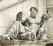 罗马雕象 免版税库存图片