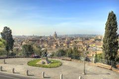 罗马风景HDR 免版税库存图片