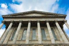 罗马风格大厦 免版税库存图片