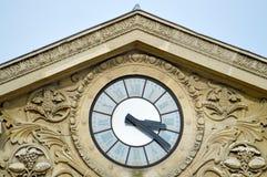 罗马风格时钟 库存图片