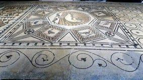 罗马马赛克马拉加安大路西亚西班牙 免版税库存图片