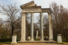 罗马,别墅Borghese公园 免版税库存照片