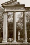 罗马,别墅Borghese公园 库存图片