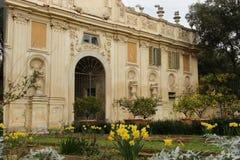 罗马,别墅Borghese公园 库存照片