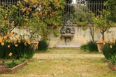 罗马,别墅Borghese公园 免版税库存图片