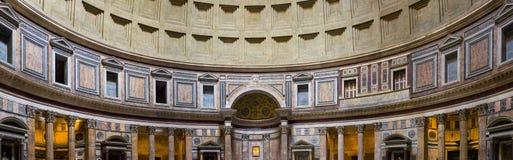 罗马,在万神殿里面 库存照片