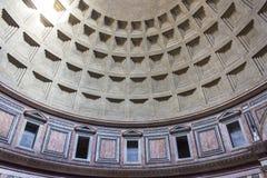 罗马,在万神殿里面 图库摄影