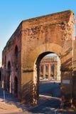 罗马,意大利。 Porta 库存照片