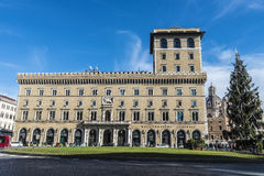 罗马,意大利古镇的看法  库存照片