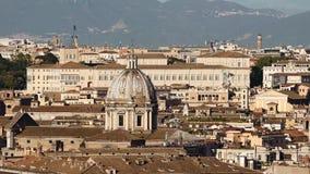 罗马,意大利总统府 影视素材